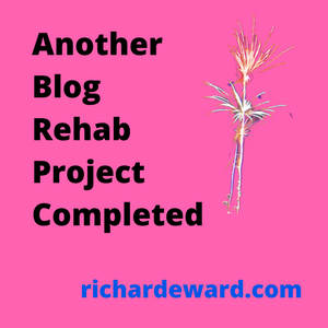 Another blog rehab project completed