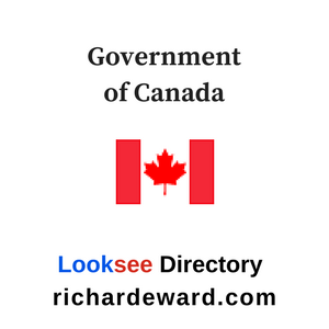 Government of Canada in Looksee Directory at richardeward.com