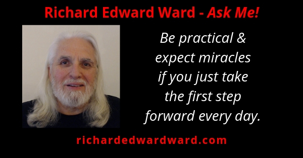 Be practical and expect miracles if you just take the first step forward every day