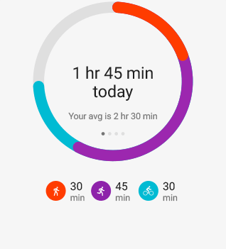 Google Fit activity & fitness tracker