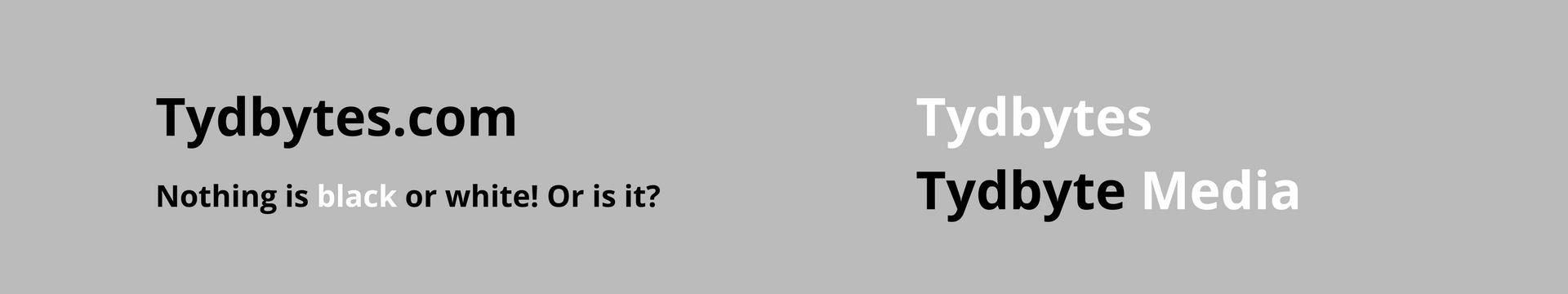 Tydbytes - Tydbyte Media