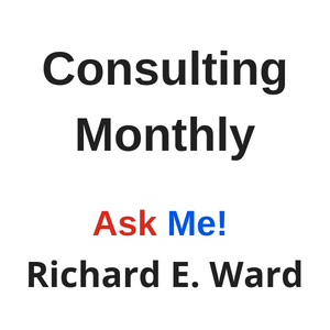 Consulting with Richard e. Ward