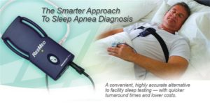 Sleep apnea home test machine
