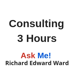 Consulting with Richard Edward Ward.