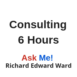 6 hours consulting with Richard Edward Ward