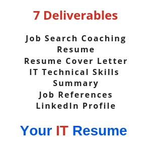 Get the IT Job you want at the salary you need with Your IT Resume