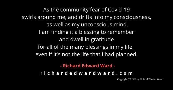 fear gratitude - richard edward ward